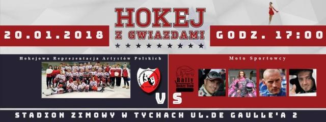 Hokej z Gwiazdami już w weekend