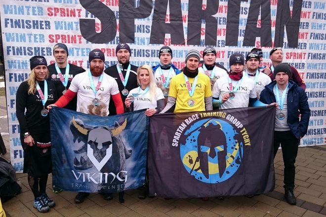 Tyszanie ukończyli Spartan Race Winter