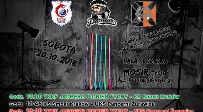 Juniorzy Pioniera Tychy na start