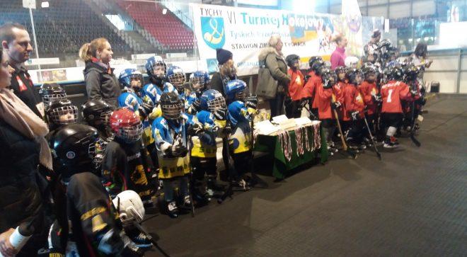 Hokejowy turniej przedszkolaków
