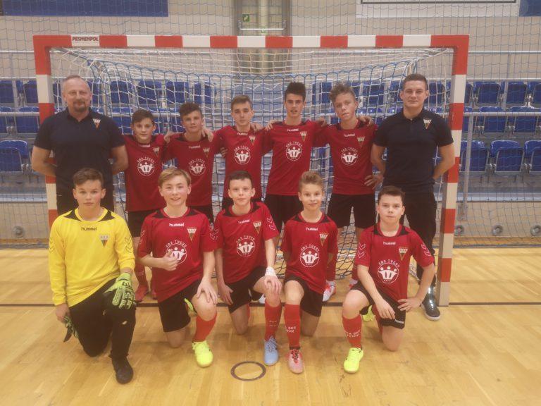 Futsal: Awans czternastolatków