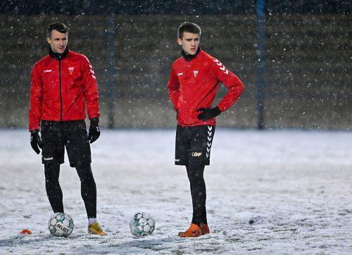 Piłkarze wrócili do treningów