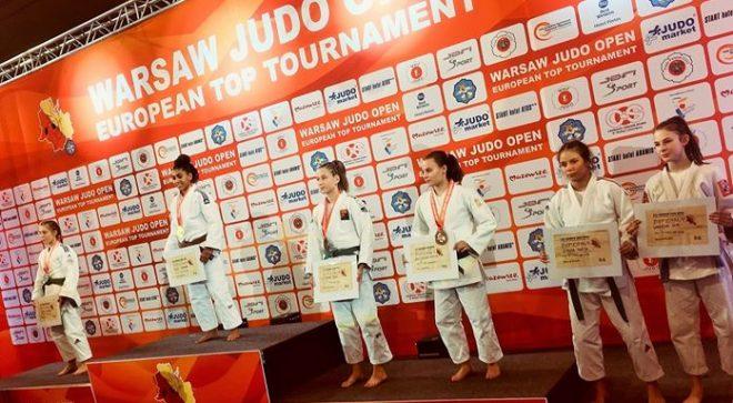 Dobry start judoczki